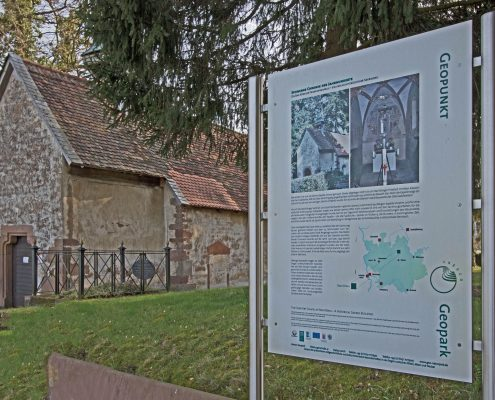 Geo Naturpark Historische Kapelle Bad König